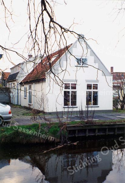 F0219 <br /> Het woonhuis van J. Melman, Vaartkade 10. Zie verdere informatie bij foto 0217. Foto: 1997.