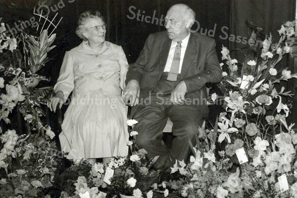 F3392<br /> Het echtpaar Cornelis Johannes Kiebert en Cornelia Elisabeth van Reisen.