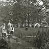 F2805<br /> De tuin achter Huis ter Leede.