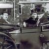 F0176 <br /> Oranjefeest 1964. V.l.n.r.: burgemeester baron Van Knobelsdorff, de heren Dick van Biezen, Cees Melman en A. Natzijl. Foto: 1964.