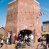 F2543<br /> Landelijke Fietsdag. Veel belangstelling bij molen De Speelman te Sassenheim. Foto: 2003