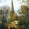 F0909 <br /> De Ned.-herv. kerk of Dorpskerk na de restauratie van 1971. Foto: ca. 1995.