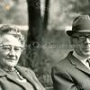 F3620<br /> Mevr. Luus Post-van der Wiel en haar man Ben Post. Foto: 28-6-1970.