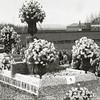 F3662<br /> Een praalwagen van de bloemencorso ter hoogte van de bollenschuur van Verdegaal, voorheen Ter Wegen.