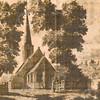 F4248<br /> <br /> Een afbeelding van de Ned.Herv.kerk (Dorpskerk) in de 18e eeuw. De maker is niet bekend.