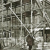 F2309<br /> De verbouwing van de gereformeerde kerk (Julianakerk) in 1927 door de fa. Dijkstra.
