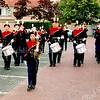 F2600<br /> Een presentatie van Jong Adest Musica in de Postwijk. Foto: 2004.