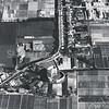 F3566<br /> Luchtfoto van de Teijlingerlaan. Middenonder is de ruïne van Teijlingen te zien.