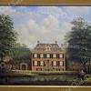F3747<br /> Een schilderij van het Oude Koningshuijs, gemaakt door P. Rodenburg, 1979
