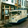F1513 <br /> De melkzaak en melkwagen van Jac. van Rijn in de Floris Schoutenstraat.