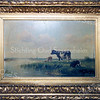 F0187d<br /> Cornelis Westerbeek, broer van overgrootvader van Piet Westerbeek, was een verdienstelijk schilder. Hij is geboren in 1844 in Sassenheim en daar overleden in 1903. Volgens de catalogus van Art Gallery Gérard (te vinden onder brochure 0035 B) was hij een van de beste vee- en landschapschilders uit de 19de eeuw. Hij deed veel zaken met de Engelse kunsthandel en maakte als een van de weinige schilders zelf zijn verf. Vele musea en verzamelaars bezitten zijn werk. Hij was een liefhebber van vrouwen en drank. Vier van zijn schilderijen hangen bij de fam. Elkhuizen in Sassenheim, waar ook de foto's werden genomen. Achter in de catalogus wordt nog een schilderij van hem afgebeeld. Zie ook F0187a, F0187b en F0187c.