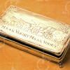 F4306<br /> De zilveren tabaksdoos, uitgereikt aan Pieter Ciggaar in 1799. Zie bijgaand verhaal.