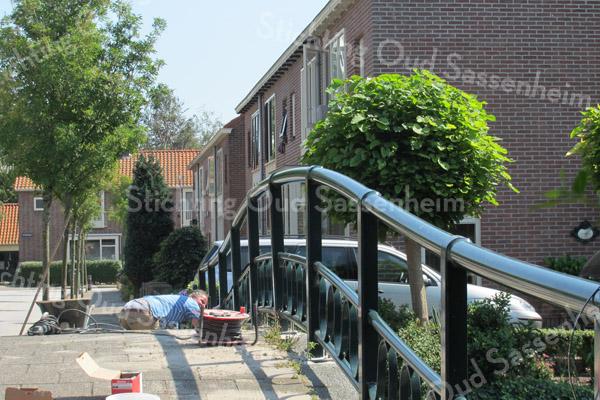 F2871<br /> Reparatie aan de Concordiabrug te Sassenheim, Foto: augustus 2012