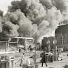 F3275<br /> De grote brand bij Sikkens. Foto: 1968