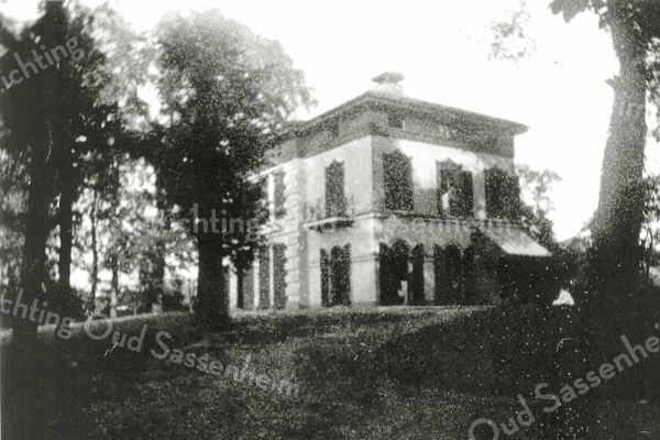 F0442 <br /> Huis Ter Beek.  Zie informatie bij F0441. Foto: 1906.