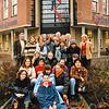 F2595<br /> UItwisselingsproject van het Rijnlands Lyceum te Sassenheim met buitenlandse leerlingen. Foto: 2004.