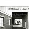 F3791<br /> Het bedrijf van W. Moolenaar & Zonen N.V aan de Hoofdstraat 122 te Sassenheim.