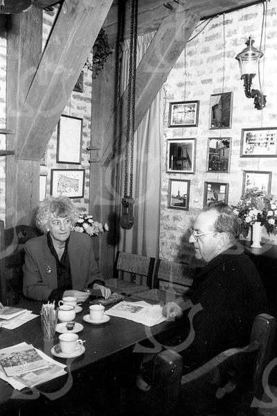 F4122 <br /> Klokkenmuseum Vliem in de Ned. Herv. Kerk of Dorpskerk te Sassenheim. Foto: 22-12-1994