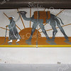 F3055<br /> Een tekening op de muur in het interieur van de bollenschuur (anno 1925) van voorheen de fa. Fred de Meulder B.V.