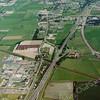 F3259<br /> Luchtfoto van Sikkens (Akzo Nobel) linksonder. De A44 loopt van middenonder naar rechtsboven.