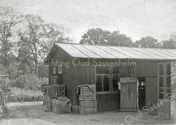 F0872 <br /> Collectie Oudshoorn 058: bollenschuur H.J. Coerman 1909 - A. Leclerq..