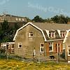 F2152<br /> De achterkant van de oude Burchtstraat. Links is nog een stukje van huize Vredesteyn te zien. Zie ook het 'Stratenboek van Sassenheim', pag. 47.
