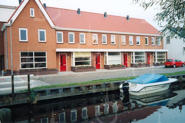 F4053 <br /> De nieuwbouw aan de Zandslootkade. Foto: 2004