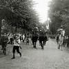 F1147 <br /> Feestelijke herdenking 1813-1913, het Onafhankelijkheidsfeest. De herauten te paard kondigden op woensdagmiddag 17 september 1913 het begin van de feestelijkheden aan. Zie ook foto G1807.