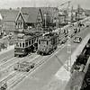 F1038 <br /> Het verwijderen van de tramrails op 17 april 1950. De locatie is aan de Hoofdstraat ter hoogte van de Molenstraat. Foto: 1950.