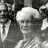 F2707<br /> <br /> Johannes (Jo) Oudshoorn en zijn vrouw Elisabeth Maartje (Bep) Oudshoorn-Vos uit de Tijloosstraat.