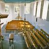 F2441<br /> Het interieur van de Ned.-herv. kerk (Dorpskerk), gezien vanaf het orgel. Foto: 1976.