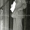 F2700<br /> Ds. Th. Ferwerda, die van 1980 - 1986 predikant was van de Gereformeerde kerk te Sassenheim. Foto uit 1e helft van de jaren tachtig.