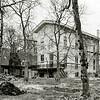 F3338<br /> Huis ter Leede, de zij- en achtergevel. Foto: 1983
