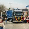 F3463<br /> Een corsowagen van de fa. Tukker met Henk van de Berg als chauffeur.
