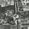F3381<br /> Luchtfoto van Sassenheim met de Teijlingerlaan en de Ruïne.
