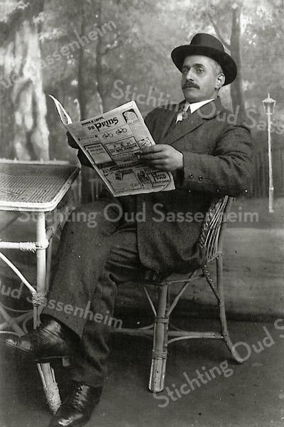 F2613<br /> Leendert Kuijper (1876–1954). Voor de beschrijving zie foto F5587 in het Sassenheims Biografisch Woordenboek.