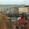 F4205e <br /> Een foto richting Kagerdreef, genomen vanaf de toren van de r.-k. kerk St.Pancratius