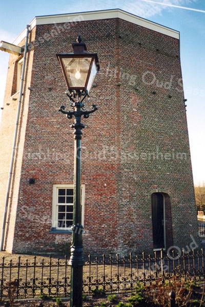 F0679b <br /> De onderkant van de achtkantige molen De Nijverheid van Speelman. Zie ook foto F0678.