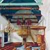 F0091 <br /> Foto van het schilderij van het interieur van de Ned.-herv. kerk of Dorpskerk. Voor het maken van dit schilderij was een serie werkfoto's nodig, die onder F0092 worden beschreven. Het schilderij is geschilderd door J. Hogewoning en het hangt in de consistorie van de kerk. Foto: 1992..