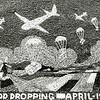 F1106 <br /> Bevrijding. Bloemenmozaïek ter herdenking aan de voedseldropping in april 1945. Foto: augustus 1945.