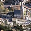 F3377<br /> een luchtfoto van de Ned.Herv. Kerk (Dorpskerk).