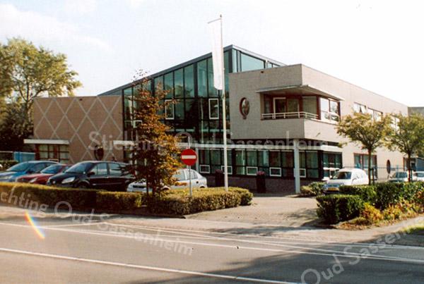 F2091<br /> De kantoren van de woonstichting Vooruitgang, Hoofdstraat 10.