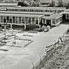 F3183<br /> Het schoolplein van het 'oude' Rijnlands Lyceum. Foto: 1978<br /> (collectie dhr. C. Pieterse).
