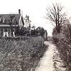 F3641<br /> Het woonhuis van de fam. Knetsch. Het huisje lag naast de Sikkens Lakfabrieken.