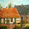F2044<br /> Een schilderij van boerderij 'de Hortus' van Casper Verlint.