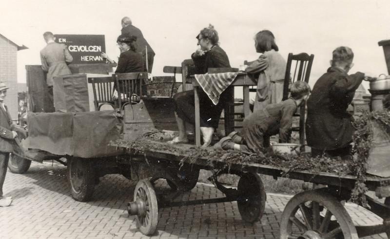 F4461 <br /> Bevrijdingsoptocht. Foto: 1945