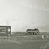 F3277<br /> Rijksweg 4, richting Sassenheim. Rechts is de watertoren De Wasbeek te zien. Foto: 1946
