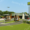 F3938<br /> De vestiging van McDonald's, met als adres Stationslaan 1. Foto: 2014.