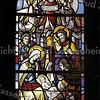 F3461<br /> Een gebrandschilderd raam uit de St. Pancratiuskerk te Sassenheim.