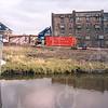 F4200 <br /> De afbraak van de loods achter de bollenschuur van Papendrecht - v.d. Voet aan de Teijlingerlaan te Sassenheim.<br /> Foto: 2004